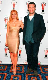 Olivia D'Abo and Craig Bierko at the 2009 Lucille Lortel Awards.