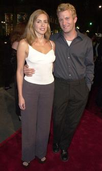 Olivia D'Abo and Thomas Jane at the premiere of
