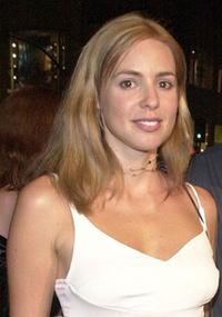 Olivia D'Abo at the premiere of
