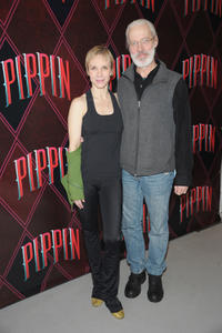 Charlotte D'amboise and Terrence Mannat the Broadway Open Press Rehearsal of