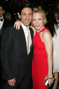 Michael Berress and Charlotte D'amboise at the after party of the opening night of