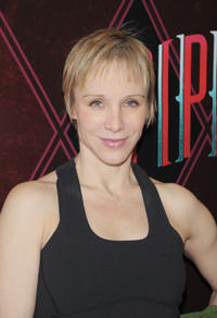 Charlotte D'amboise at the Broadway Open Press Rehearsal of