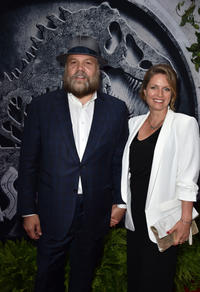 Vincent D'Onofrio and Carin van der Donk at the California premiere of