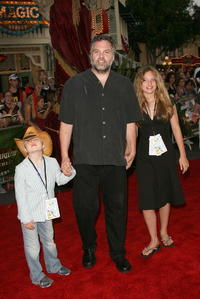 Vincent D'Onofrio with family at the California world premiere of