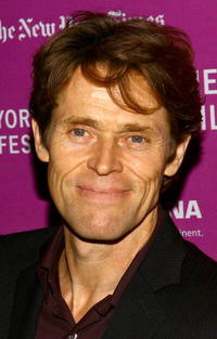Willem Dafoe at the premiere of