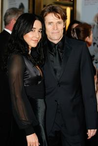 Willem Dafoe and Giada Colagrande at The Metropolitan Opera's Opening Night.