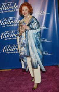 Arlene Dahl at the 32nd Annual Fragrance Foundation's FiFi Awards.
