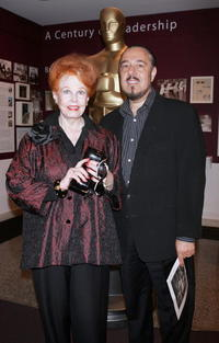 Arlene Dahl and husband Marc Rosen at the New York screening of