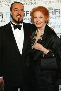 Arlene Dahl and her husband Marc Rosen at the 33rd Annual FiFi Awards.