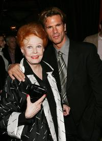 Arlene Dahl and Lorenzo Lamas at the after party of the special screening of