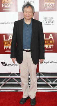 Director Ang Lee at the premiere of