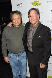 Director Ang Lee and Mitchell Lichtenstein at the New York premiere
