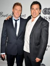 Ryan Kavanaugh and David O. Russell at the 2010 Cedars-Sinai Board of Governors Gala.