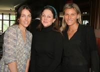 Kelly Atterton, Carrie Frazier and Kristine Westerby at the MaxMara and Women In Film's luncheon.