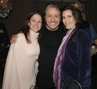 Carrie Frazier, Edward James Olmos and Ann Jo Berman at the after party of the premiere of