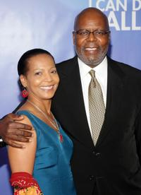 Alice Canon and Reuben Cannon at the New York premiere of