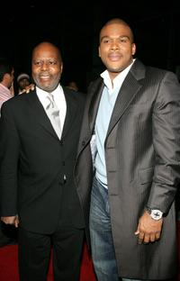 Reuben Cannon and Tyler Perry at the premiere of