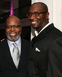 Reuben Cannon and Roger Bobb at the premiere of
