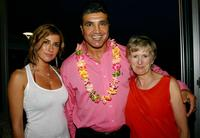 Jodie Packer, Mario Fenech and Liz Mullinar at the