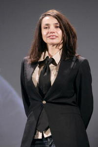 Beatrice Dalle at the Paris screening of