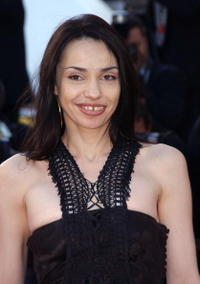Beatrice Dalle at the 56th International Cannes Film Festival screening of