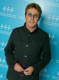 Roger Daltrey at the fourth in a series of 5 charity gigs in aid of the Teenage Cancer Trust.