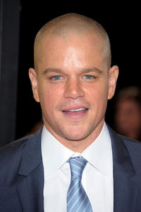 Matt Damon at the New York premiere of