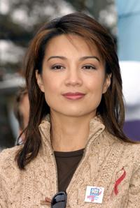 Ming Na Wen at the 18th Annual Aids Walk Los Angeles.