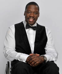 Daryl Mitchell at the 41st NAACP Image awards in California.