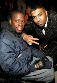 Daryl Mitchell and Ginuwine at the after party of the premiere of
