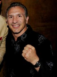 Ray Mancini at the after party of the premiere of