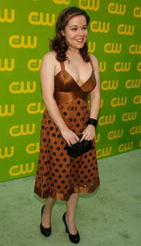 Tina Majorino at the CW Launch Party.