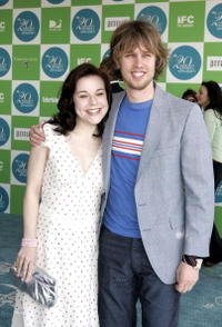 Tina Majorino and John Heder at the 20th IFP Independent Spirit Awards.