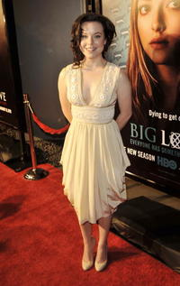 Tina Majorino at the premiere of
