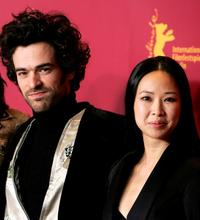 Romain Duris and Linh-Dan Pham at the photocall of