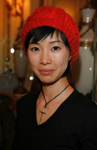 Linh-Dan Pham at the Espace Glamour Chic gift lounge.