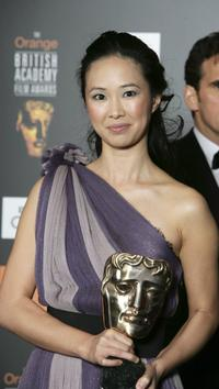 Linh-Dan Pham at the Orange British Academy Film Awards (BAFTAs).