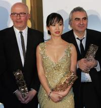 Jacques Audiard, Linh-Dan Pham and Tonino Benaquista at the 31st Nuit des Cesar.