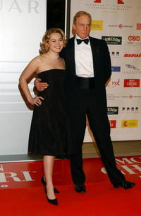 Sofia Myles and Charles Dance at the European Film Awards 2004.