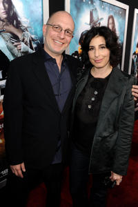 Akiva Goldsman and Warner Bros. president Sue Kroll at the California premiere of