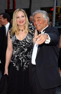 Shera Danese and her husband Peter Falk at the NBC 75th Anniversary celebration.