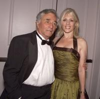 Peter Falk and Shera Danese at the 50th Anniversary of