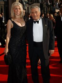 Shera Danese and her husband Peter Falk at the 9th Annual Screen Actors Guild Awards.