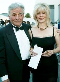 Peter Falk and his Wife Shera Danese at the 2nd Annual TV Land Awards.