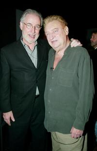 Rodney Dangerfield and President and CEO of Comedy Central Larry Divney at the Comedy Central's First Ever Awards Show