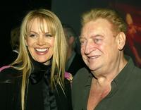 Rodney Dangerfield and his wife Joan Child at the Comedy Central's First Ever Awards Show