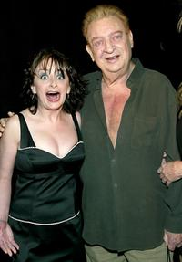 Rodney Dangerfield and Rachel Dratch at the Comedy Central's First Ever Awards Show