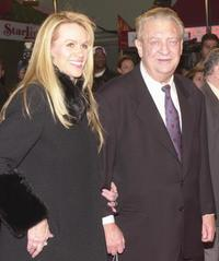 Rodney Dangerfield and wife Joan Child at the premiere of