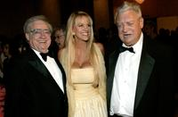 Rodney Dangerfield, his wife and Warren Cowman at the Volunteers Of America Gala.