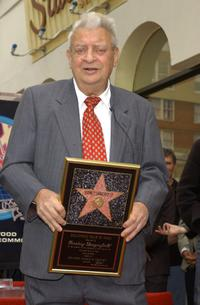Rodney Dangerfield at the Hollywood Walk of Fame.